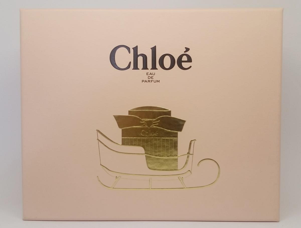 perfume chloé edp kit parfum 75ml+ creme100ml+ miniatura 5ml. Carregando  zoom. bab78f03d1