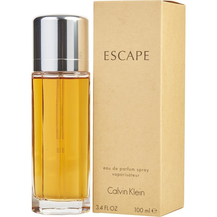 bbee5759abc49 Perfume Ck Escape Calvin Klein Feminino 100ml Oficial - R  179