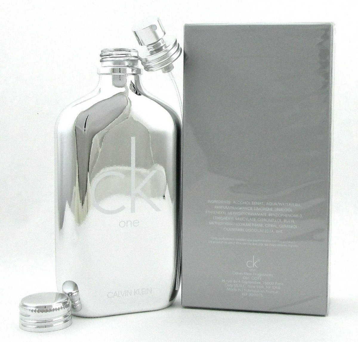 d822aee0bcfca perfume ck one platinum edition calvin klein 200ml original. Carregando  zoom.