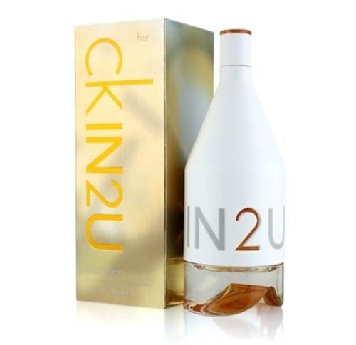 perfume ckin2u de calvin kleim dama 150ml original envío hoy