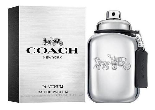 perfume coach platinum eau de parfum masculino 60 ml