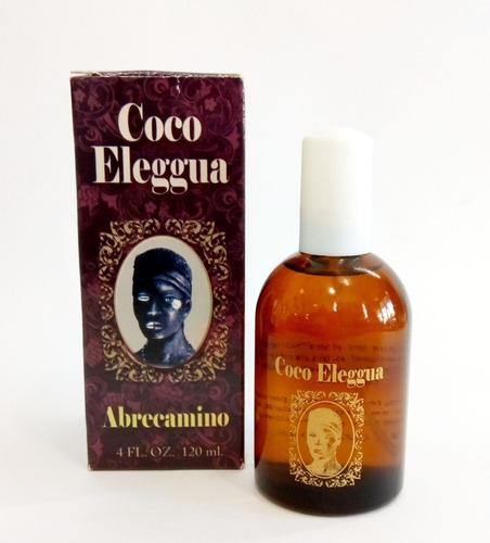 perfume coco elegua para abrir caminos al éxito y abundancia