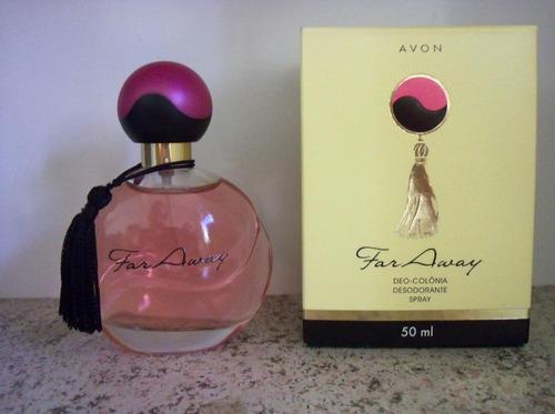 perfume colônia feminina far away avon 50 ml