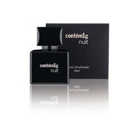 Perfume Colonia 50ml Nuit Citrico Amadeirado Doce Contém1g