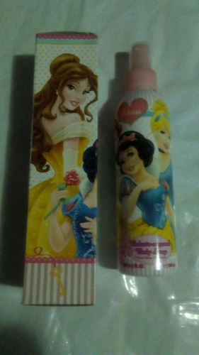 perfume colonia disney de princesas original 200ml
