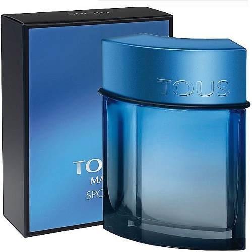 perfume colonia tous sport man hombre 3.4oz 100ml original