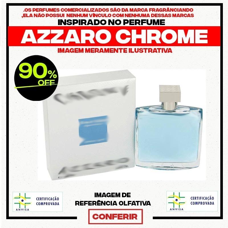 f49861b1e59 Perfume Contratipo Do Azzaro Chrome Masc 50ml (similar) - R  21