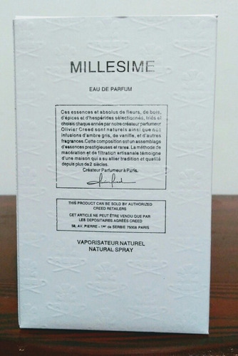 perfume creed silver mountain water 120ml