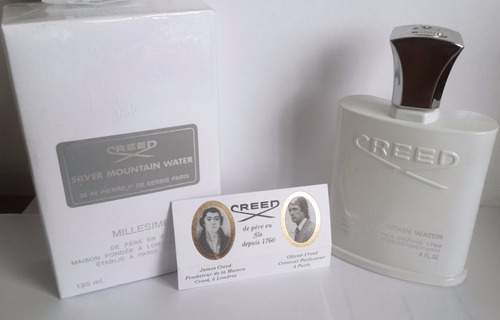 perfume creed silver mountain water para caballero
