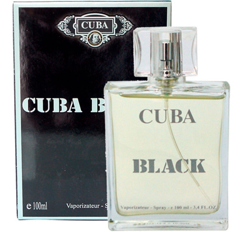 perfume cuba black edp masculino 100 ml original