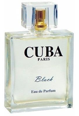 perfume cuba black edp masculino 100ml original - azzaro
