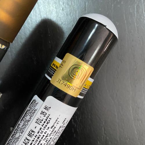 perfume cuba black for men eau de toilette + nota fiscal
