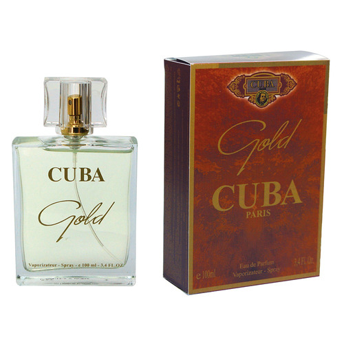 perfume cuba gold edp masculino 100ml original