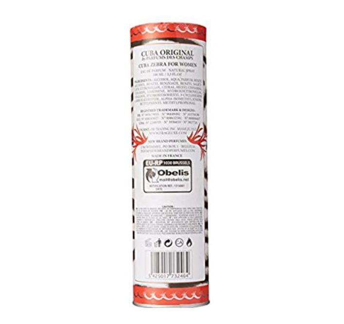 fad848891e Perfume Cuba Zebra For Women - Eau De Parfum - Natural Spray -   949 ...