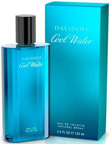 perfume davidoff cool water original 125 ml envio gratis