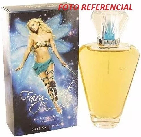 perfume de dama paris hilton, fairy dust, original 100ml..
