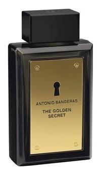 perfume de hombre the golden secret  antonio banderas 100 ml