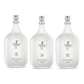 Perfume Deo Colonia Yes Cosmetics Kit Com 3 Unidades