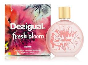 Original Desigual Edt Nuevo Fresh Bloom 100ml Perfume Ivmfy76Ybg