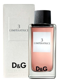 100ml Perfume Anthology amp;gabbana D L'imperatrice Dolce amp;g N° 3 We2bHE9IDY