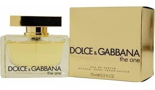 perfume d&g the one dama 75 ml 100% or - ml a $1533