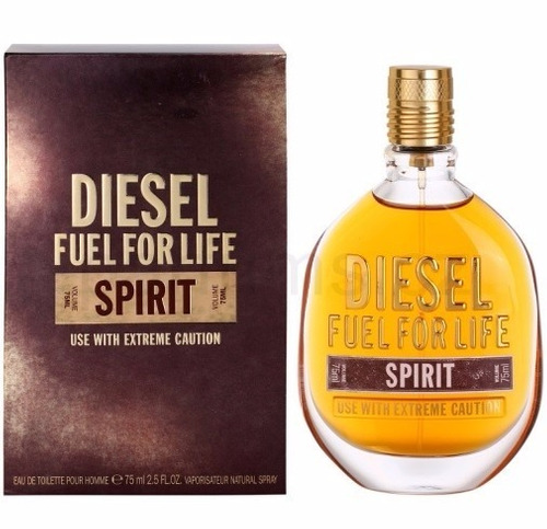 perfume diesel fuel for life spirit homme edt 75ml r. Black Bedroom Furniture Sets. Home Design Ideas