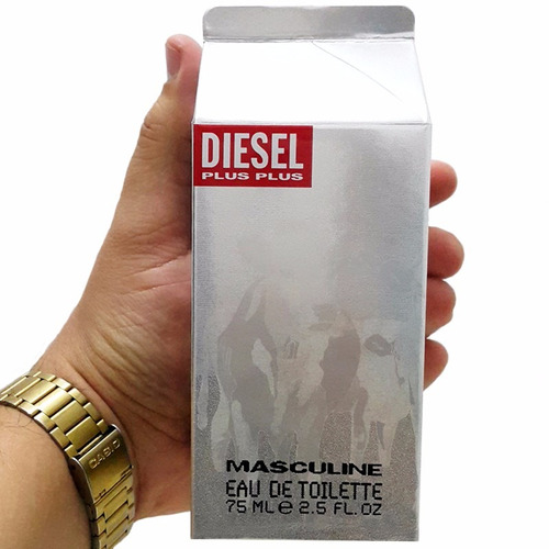 perfume diesel plus plus hombre 75 ml original envio hoy