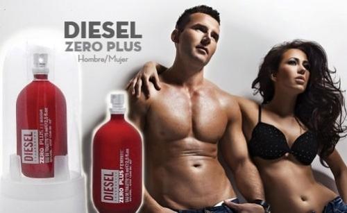 perfume diesel zero plus hombre 100% o - ml a $1053