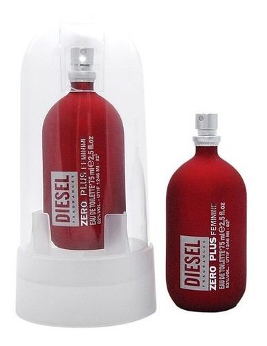 perfume diesel zero plus mujer 100% or - ml a $1053