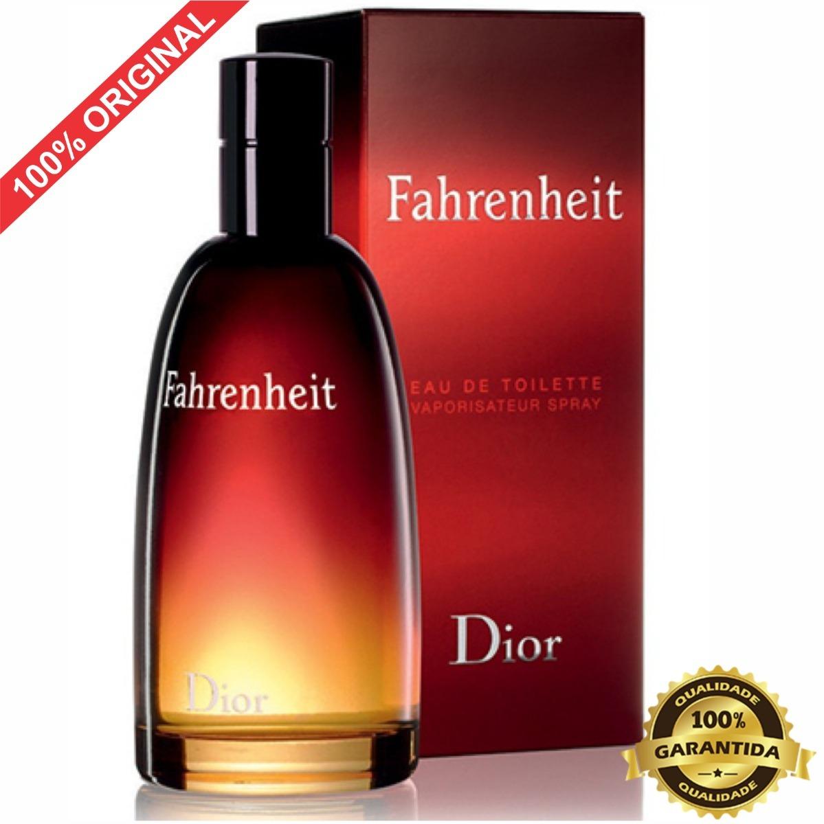 224b7b58da2 Perfume Dior Fahrenheit 100 Ml Masculino