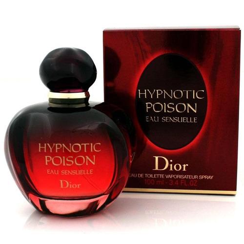 perfume dior hypnotic poison eau sensuelle mujer 3.4oz 100ml