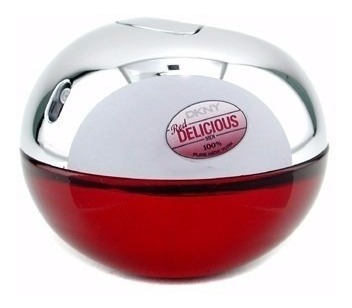 perfume dkny be delicious red caballeros 100ml