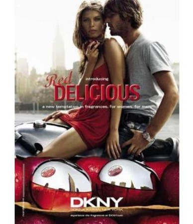 perfume dkny delicious red 100ml damas