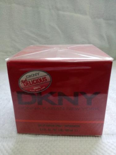 perfume dkny delicius manzana roja  100 ml original