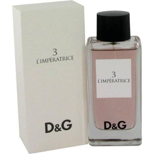 perfume dolce & gabbana 3 l´emperatrice 100 ml dama