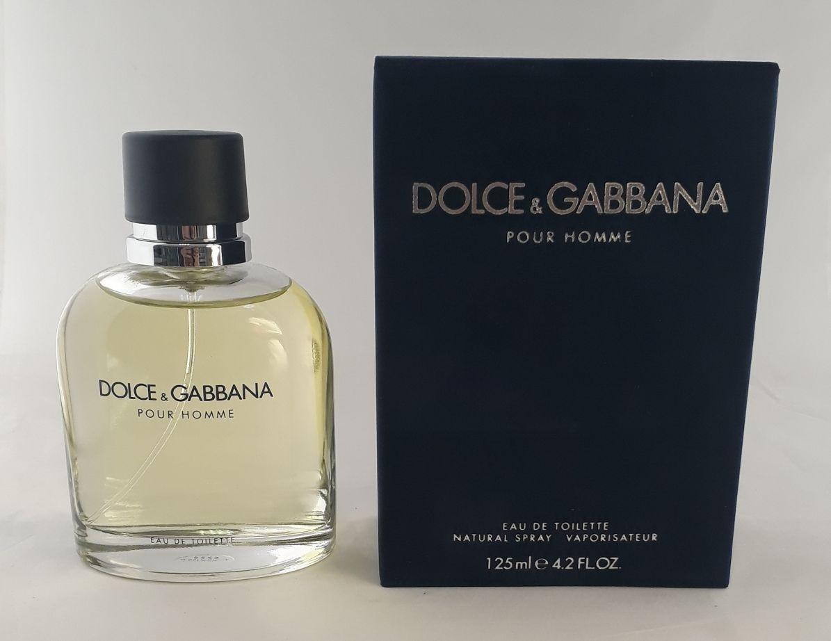 33cac6e137fc6f Perfume Dolce   Gabbana Pour Homme 125ml + Brinde Amostra - R  355 ...