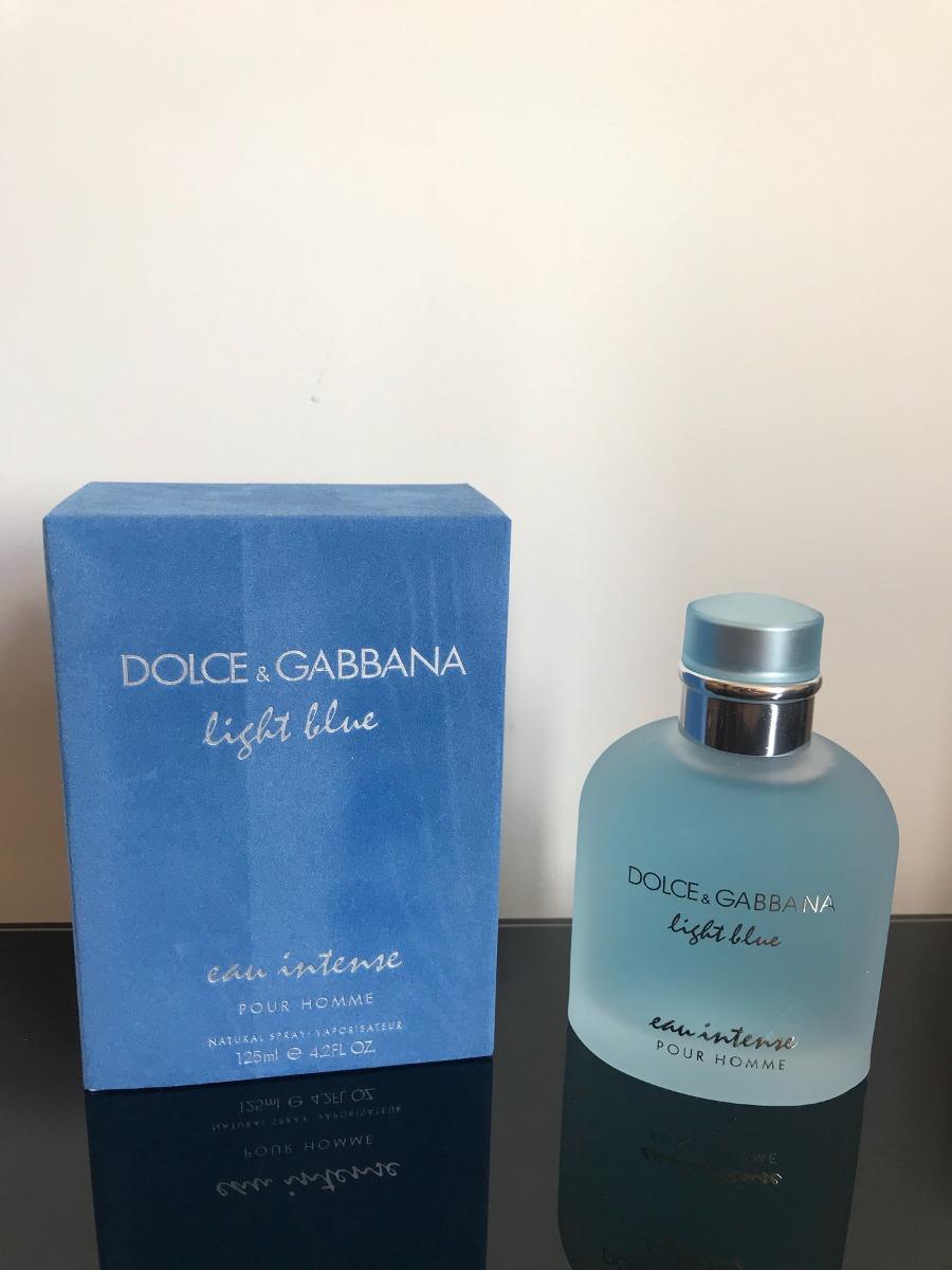 Light Blue 125 Hombre Dolce Ml Gabbana Intense Perfume Origi JulKcF13T