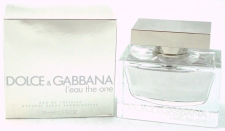 perfume dolce & gabbana leau the one mujer 2.5oz 75ml