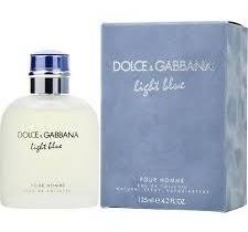 perfume dolce & gabbana light blue men 4.2oz.125ml original