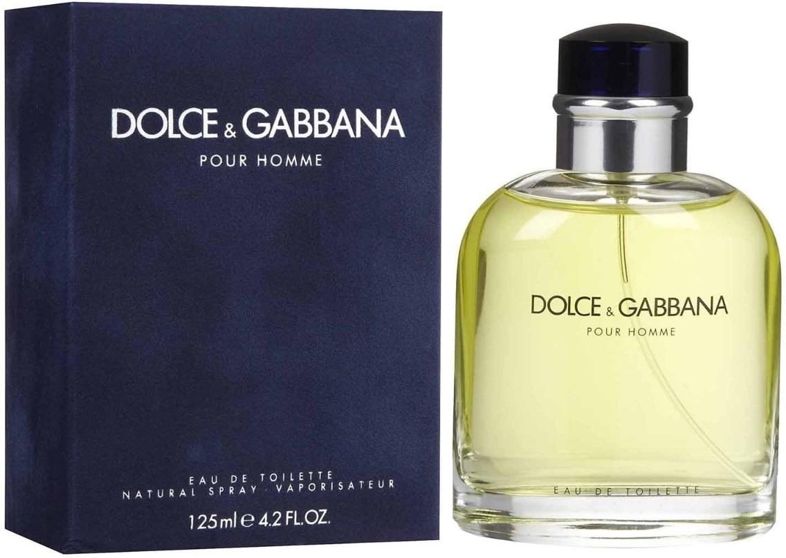 Perfume Dolce Gabbana Pour Homme 125ml Masculino Edt - R  319,90 em ... 2a859045e9