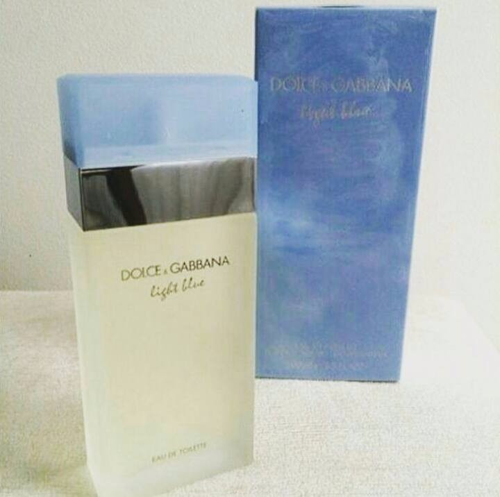 Perfume Dolce Gabbana Light Blue Para Mujer 100 Ml