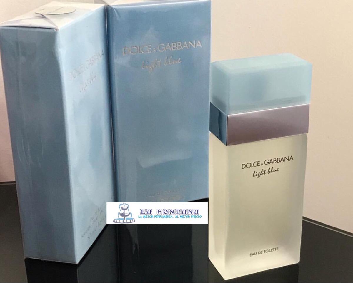 48417051cb Perfume Dolce Gabbana Light Blue Mujer 100 Ml Original - $ 89.900 en ...