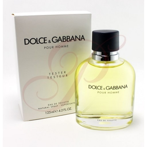 Perfume Dolce Gabbana Pour Homme 125ml Masculino Edt Tester - R  299 ... 372d3fbc43