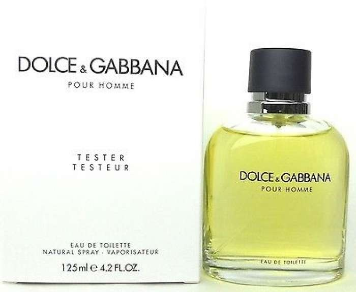 Perfume Dolce Gabbana Pour Homme 125ml Tester - R  229,90 em Mercado ... 1b9b1f1ac2