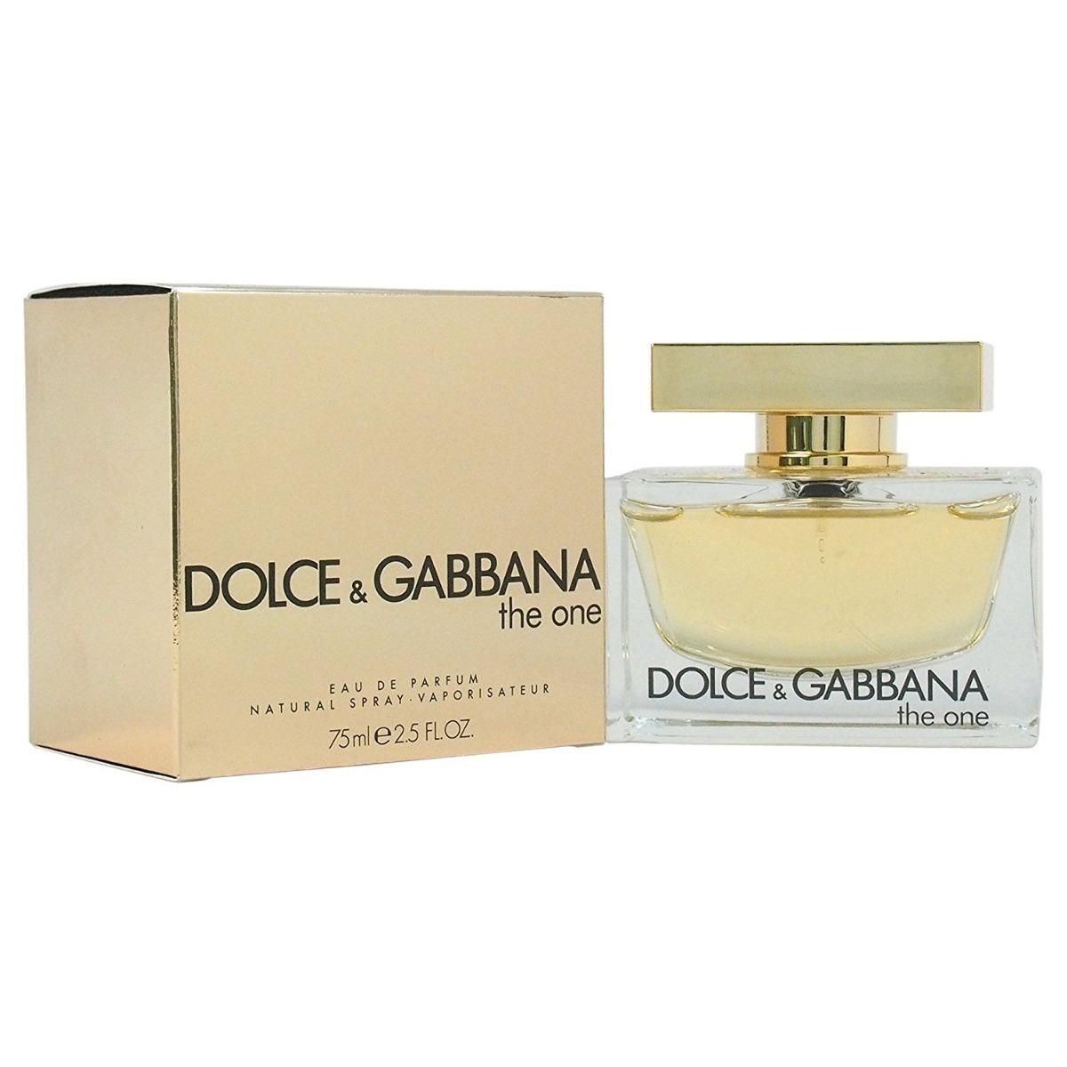 Perfume Original Ml Gabbana One 75 Dolceamp; The Mujer ExoeWQrBdC