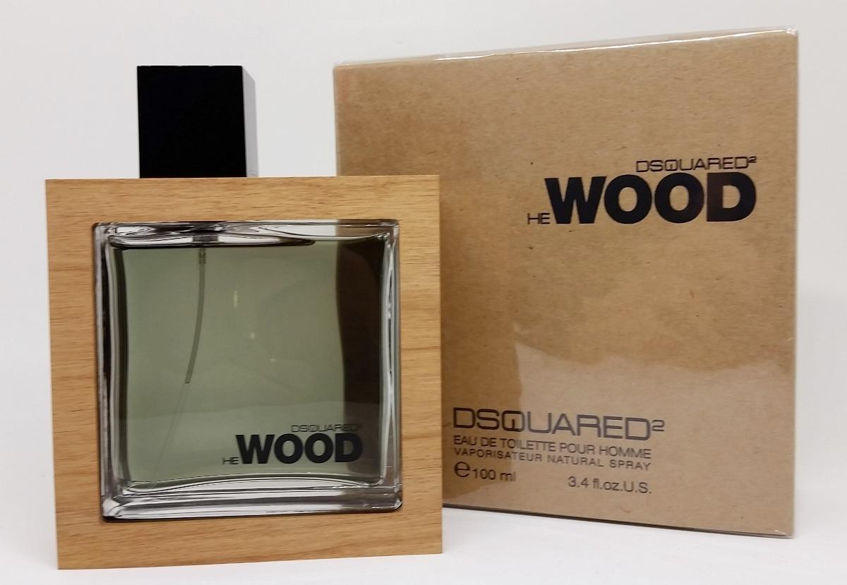 Dsquared De Ml 100 Toilette Homme Wood He Pour Perfume Eau uFKclJ5T13