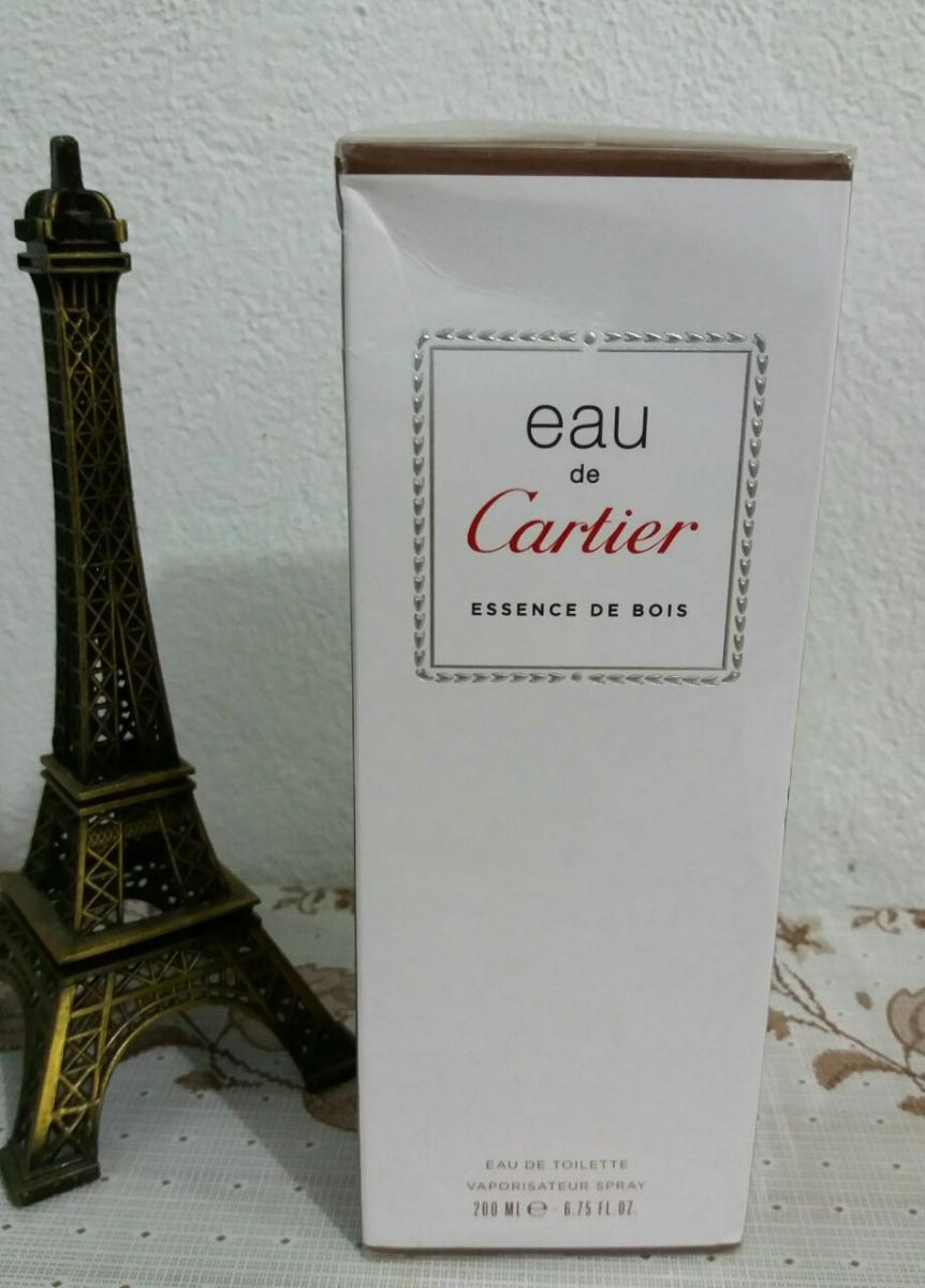 dbd963147ed perfume eau de cartier essence de bois unisex edt 200ml. Carregando zoom.