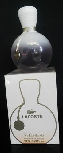 perfume eau de lacoste para dama 100% - ml a $1332