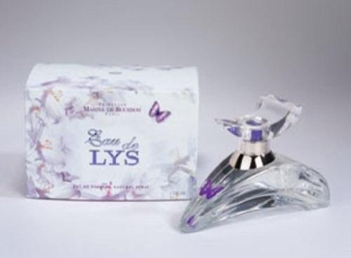perfume eau de lys marina de bourbon eau de parfum de 30ml