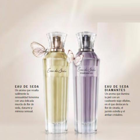 perfume eau de seda mujer unique gran original y nuevo
